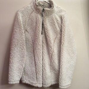 Cozy Sherpa Faux Fur Sweater/Jacket XXL
